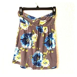 Gilly Hicks Strapless Babydoll Top size Large